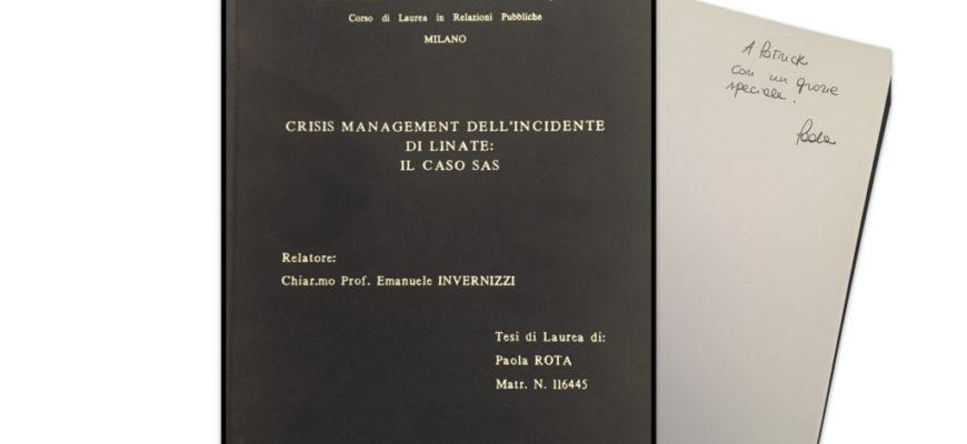 oggi vi racconto una storia, quella del 8 ottobre 2001 a Linate