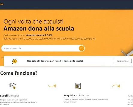 Amazon.it si concentra sulla scuola, dalla csr all'assortimento