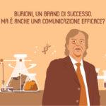 BURIONI, UN BRAND DI SUCCESSO. MA È ANCHE UNA COMUNICAZIONE EFFICACE?