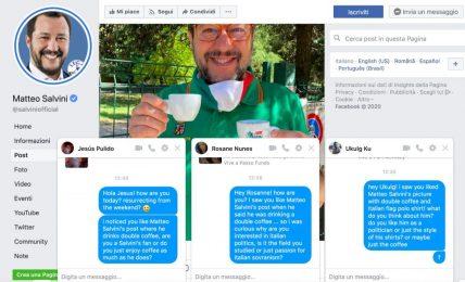 Abbiamo chiesto ai finti fan stranieri di Salvini cosa pensano di Salvini