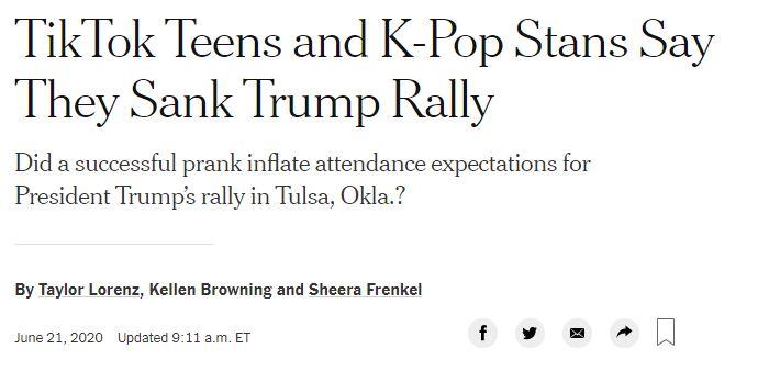 Così i ragazzini su TikTok hanno boicottato Trump a Tulsa