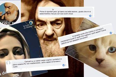 Ritratto dell'odiatore seriale su Facebook. Insulti e minacce tra gattini, torte e Padre Pio