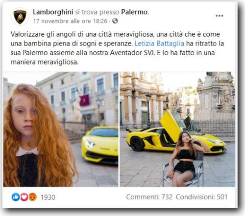 Bambine e motori. L'amarezza di Letizia Battaglia per il caso Lamborghini