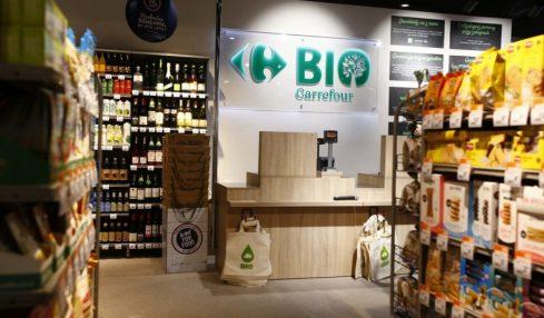 Carrefour promuove il corner di prodotti sostenibili
